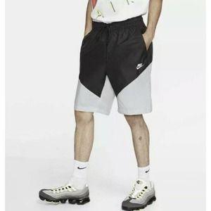 Nike Track Shorts Size XXL Black Gray Men